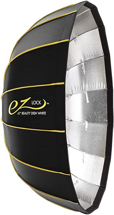 "Glow EZ Lock Collapsible Silver Beauty Dish (42"")"