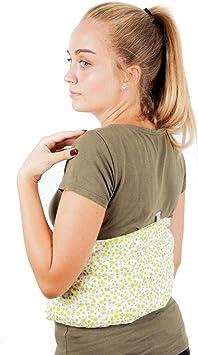 Faja Térmica Lumbar de Semillas - Almohada de Calor para Espalda ...