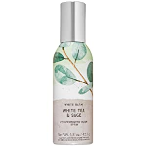 Bath and Body Works WHITE TEA & SAGE Concentrated Room Spray 1.5 Ounce (2020 Limited Edition)
