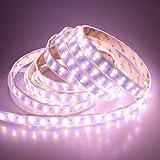 LTRGBW Double Row DC 24V 600LEDs / spool 5m RGBW RGB + Blanc Chaud (2800k-3000K) 5050 SMD RGBW étanche Les lumières de bande de LED en silicone chemisage IP67 pour soirée de mariage de vacances en plein air d'éclairage LED