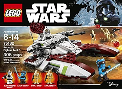 LEGO Star Wars Republic Fighter Tank 75182 Building Kit from LEGO