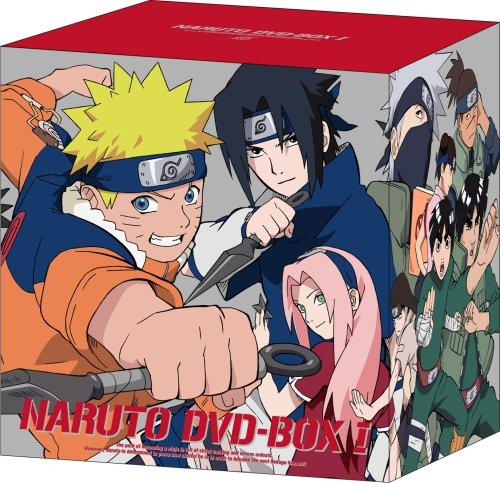 NARUTO -ナルト- DVD-BOX I 参上!うずまきナルト