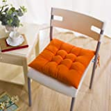 PICTURESQUE Soft Orange Seat Pads for Dining