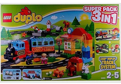 Lego Duplo Eisenbahn 66494 - Super Pack 3 in 1