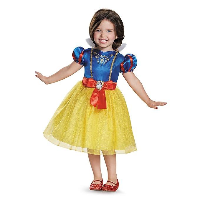 Amazon Com Disney Princess Classic Snow White Costume For Girls