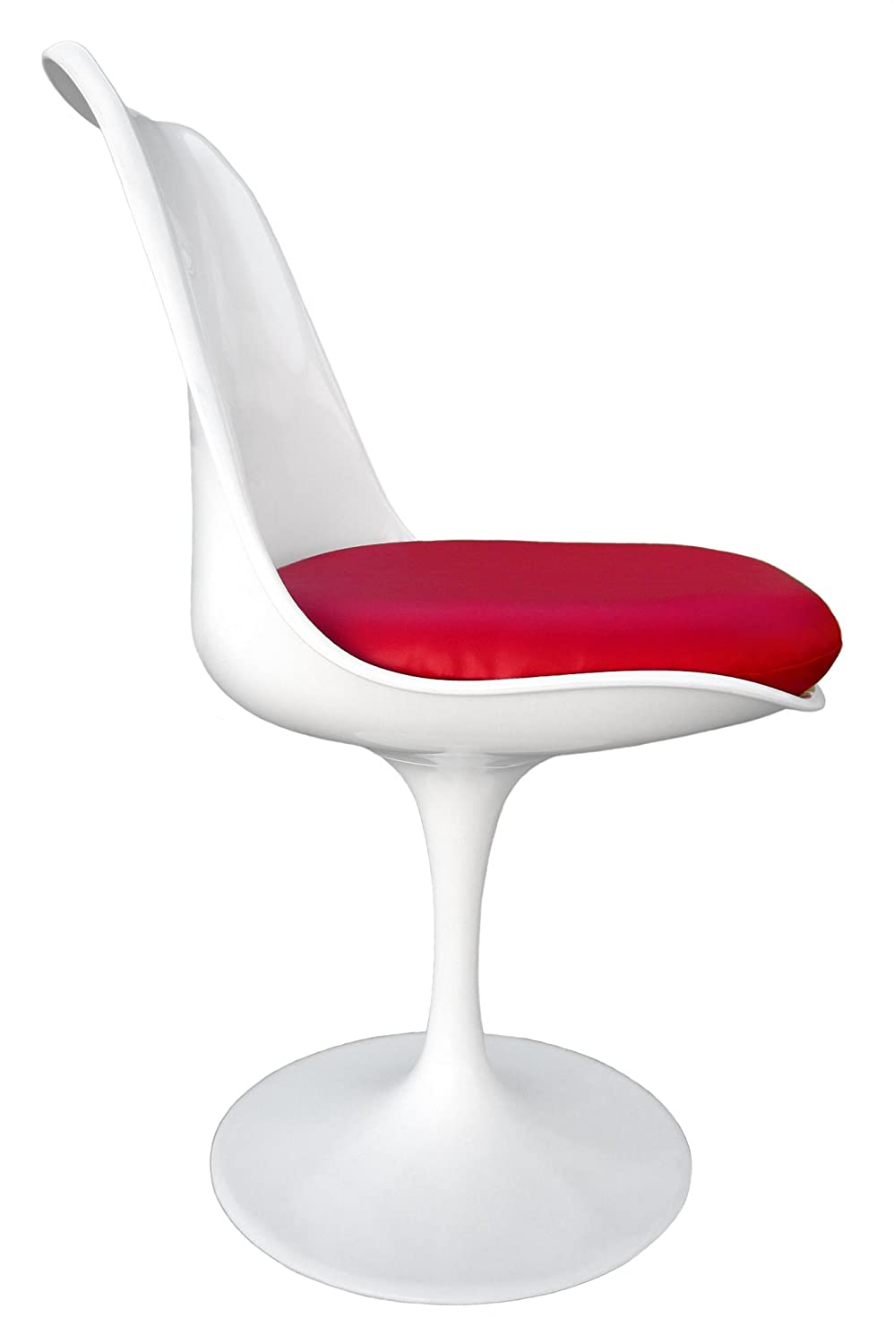 Amazon.com: Premium Replacement Cushion For Saarinen Tulip Side Chair   Red  Vinyl: Prints: Posters U0026 Prints