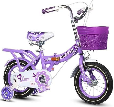 Xiaoping Infantil Bicicleta Plegable Bicicleta Niña de Bicicletas ...