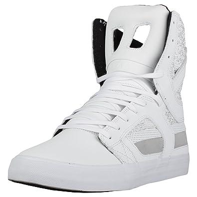 Supra Men\u0027s Skytop II \u002718 Shoes,Size 7,White-White