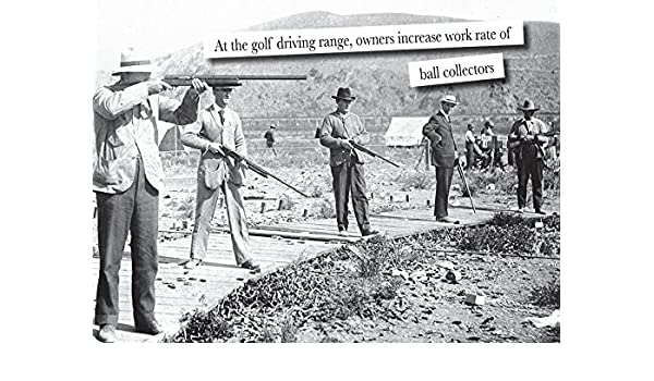 Amazon Clay Pigeon Shooting Greeting Card Featuring Men With