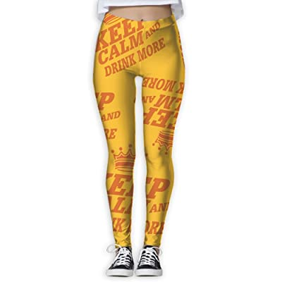 Funny-Orange-Koningsdag-King's-Day Women High Compression Pants Leggings Fitness Power Yoga Pants
