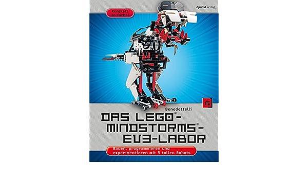 Amazoncom Das Lego Mindstorms Ev3 Labor Bauen Programmieren