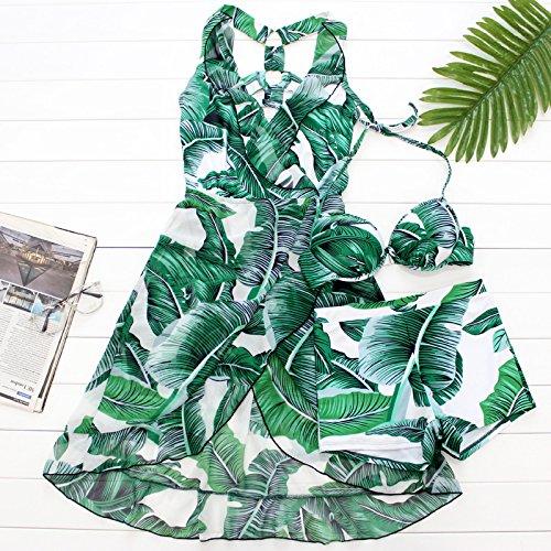 YUPE Hot Spring swimsuit Fashion Badeanzug Rock mit hoher Taille bikini drei Stück Strand