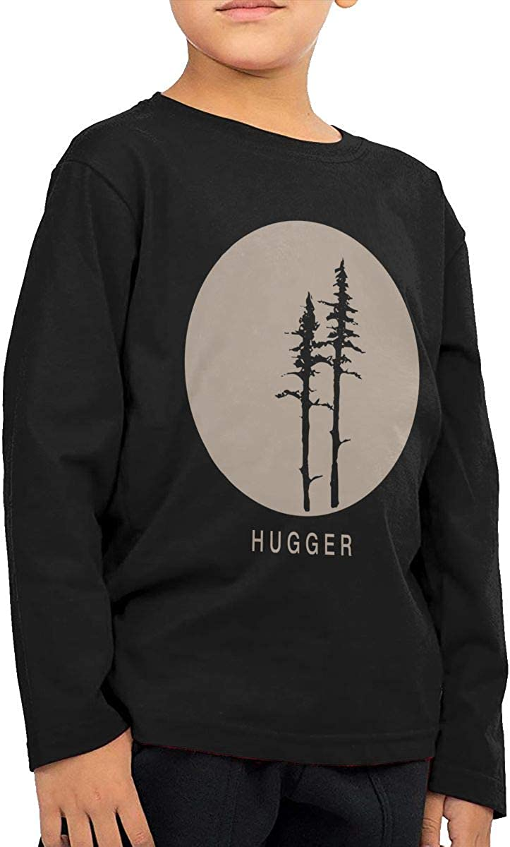 Casual Tunic Tops Long-Sleeve Tree Hugger T-Shirts for Children 2T-6T