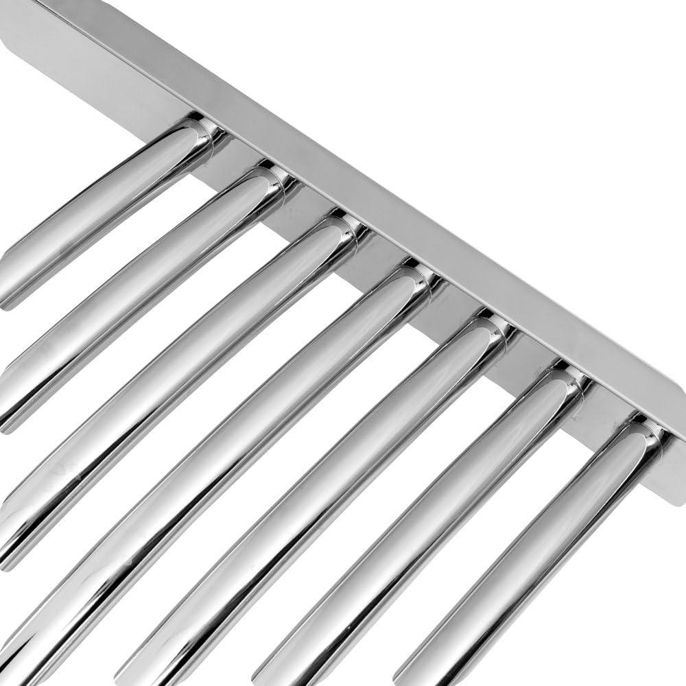 Heizk/örper Badheizk/örper gebogen 764 x 500 anthrazit mit Mittelanschluss 50 mm