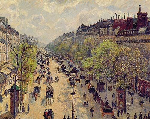 - Camille Pissarro Boulevard Montmartre Private Collection 30