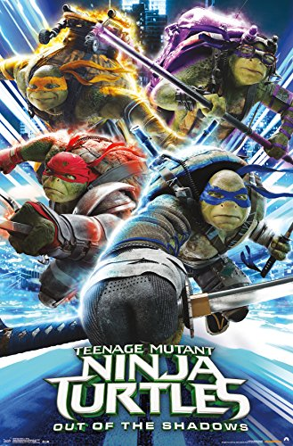 Trends International Teenage Mutant Ninja Turtles 2 Attack Wall Poster
