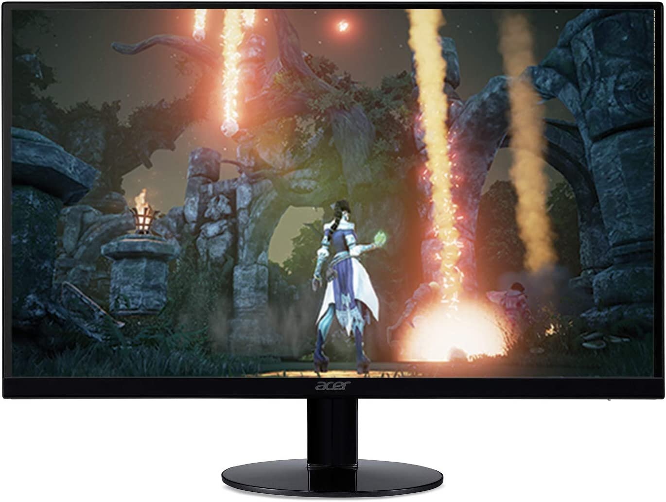 "Acer SB270 Bbix 27"" Full HD (1920 x 1080) IPS Ultra-Thin Zero Frame Monitor with AMD Radeon FREESYNC Technology - 1ms 