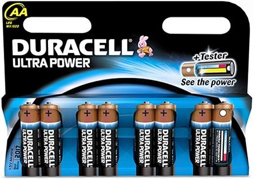 Duracell Batterie Ultra Mignon Aa Lr6 1 5v Im 8er Pack