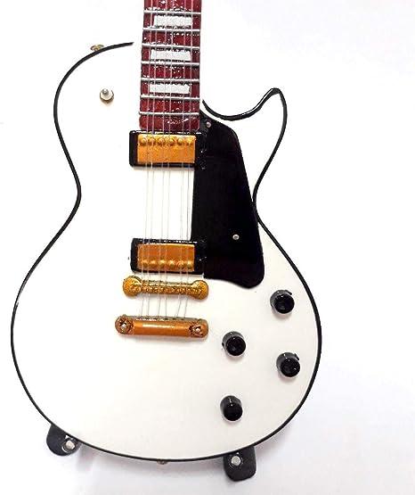 Mini guitarra: KISS – Tommy Thayer – Epiphone blanco: Amazon.es ...