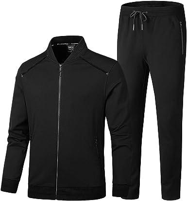 Jog Pants Is Time Money Men/'s Designer Tracksuit Cut /& Sewn Hooded Jacket
