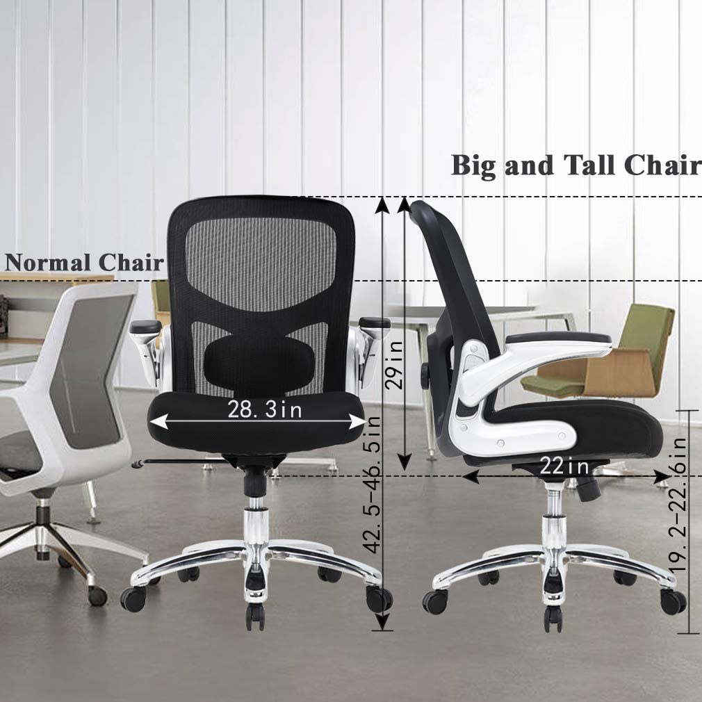 Big and Tall Office Chair Mesh Computer Chair Ergonomic
