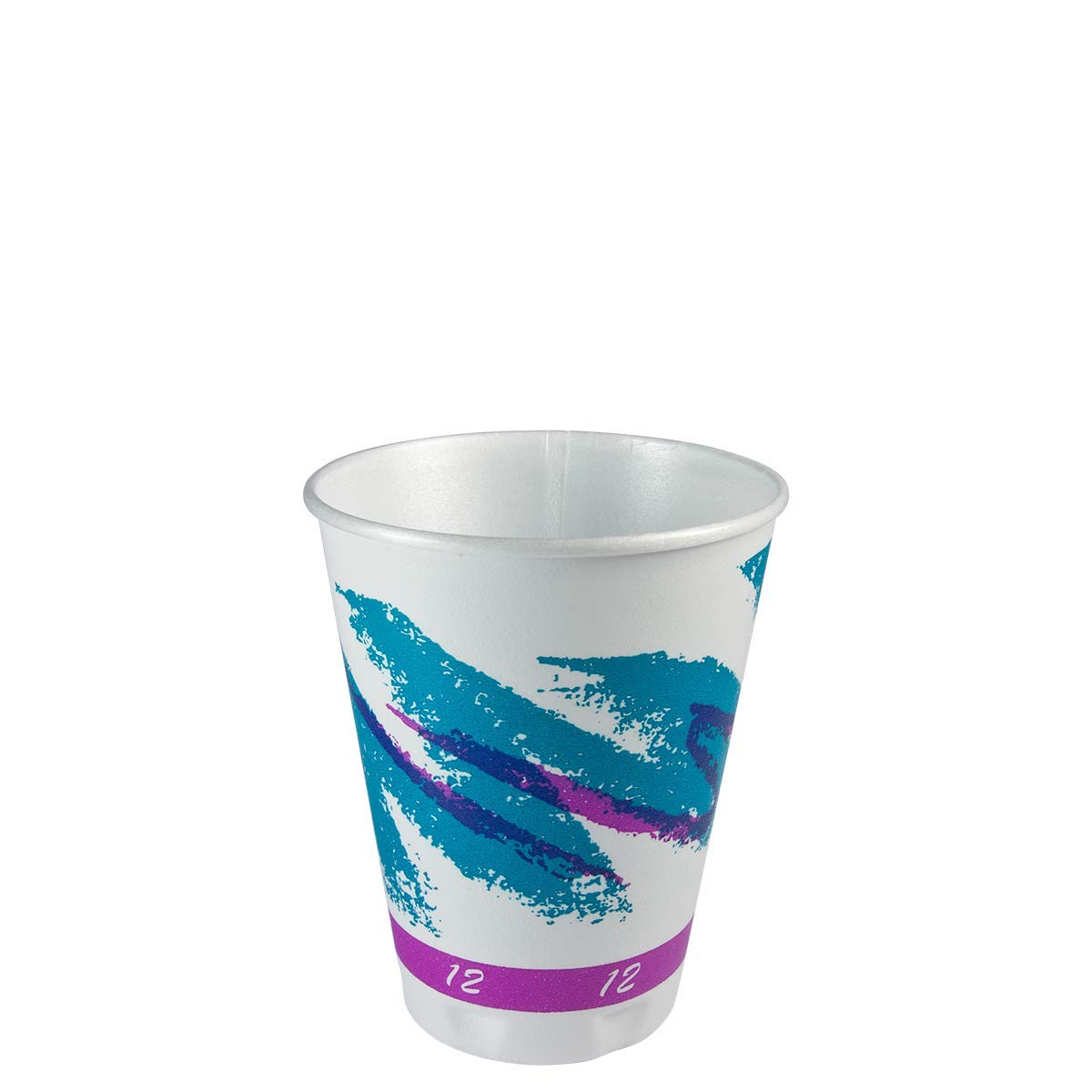 Dart X12-00055 12 oz Jazz Trophy Plus Hot/Cold Cup (Case of 1000)