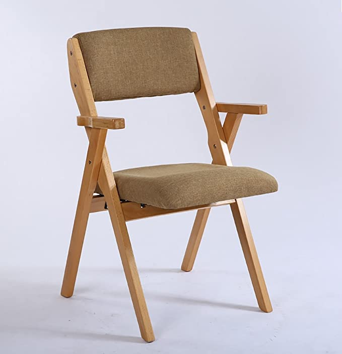 Amazon.com: Wood Folding Chair Solid Wood Folding Chair ...