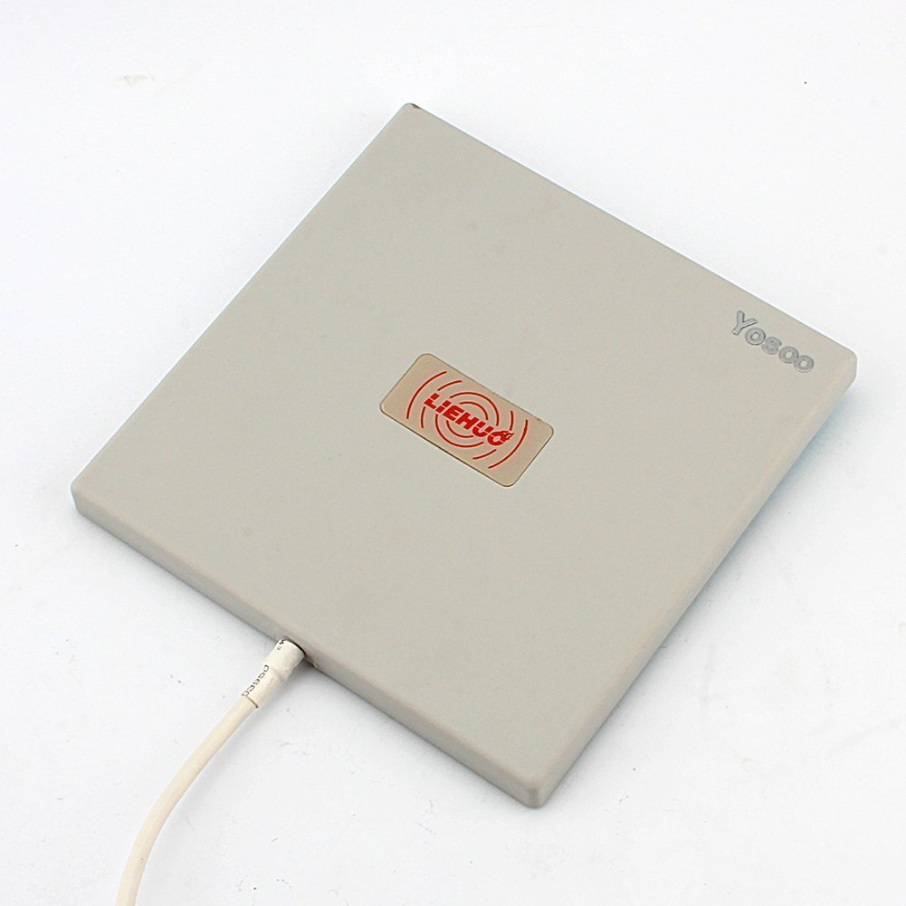 White High WiFi Gain WLAN Directional Yosoo/® 2.4Ghz 14dBi Outdoor Directional Panel Antenna Long Range Extender