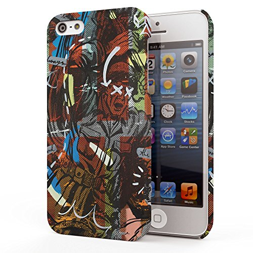 Koveru Back Cover Case for Apple iPhone 5S - Captain America