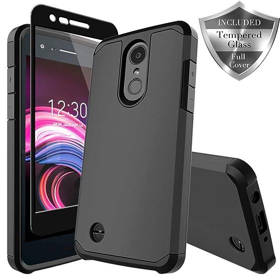 LG Zone 4 Case,LG Aristo 2/3, LG Phoenix 4, LG Tribute Empire/Dynasty  SP200,LG Fortune 2,LG Risio 3,LG K8 (2018) Case, SWODERS Heavy Duty  Shockproof
