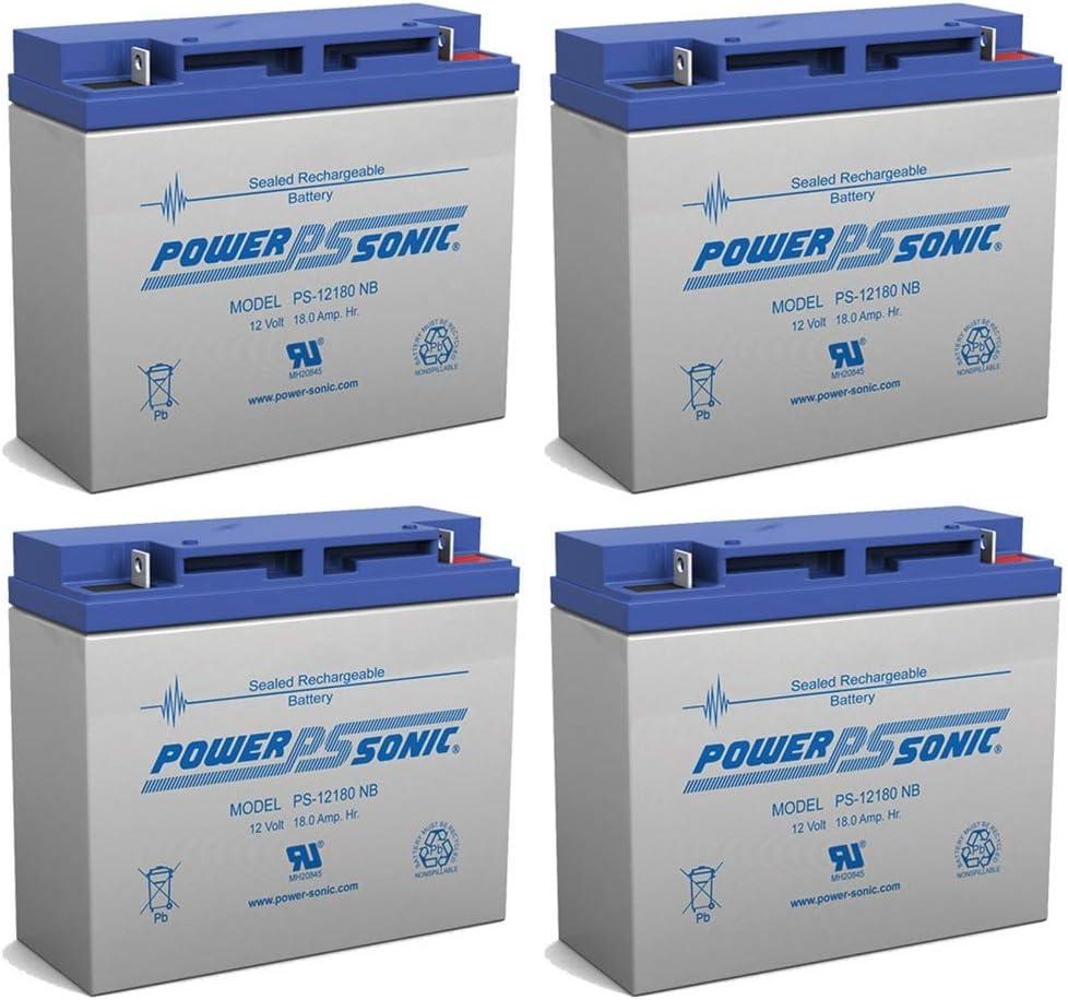 Powersonic 12V 18AH Replacement Battery for Jump n Carry JNC660 JNCAIR JNC 660 JNC4000