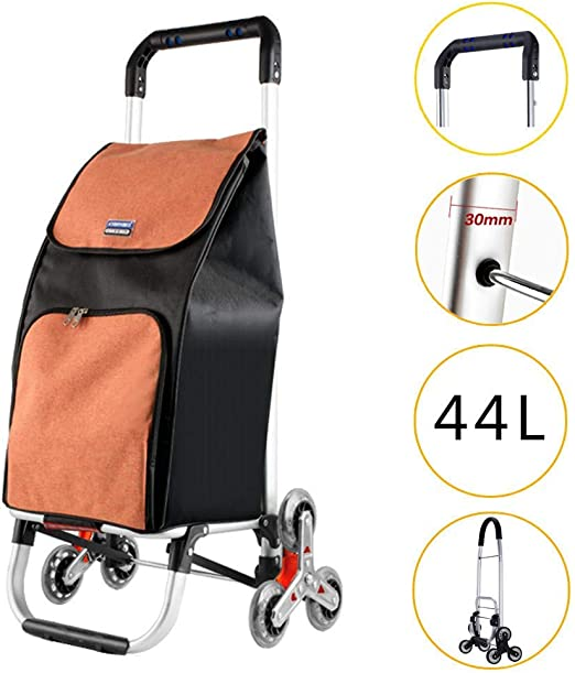 Personal On Shine Folding Aluminium Hand Truck,Capacity Heavy-Duty Luggage Trolley Cart,Compact and Lightweight for Luggage Moving and Office Use Travel
