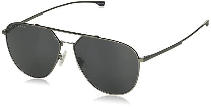 Gafas de Sol Hugo Boss BOSS 0994/F/S SILVER/DARK GREY hombre ...