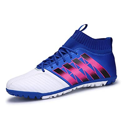 82a4f36eb Rainbow Dream Soccer Shoes Male and Female Young Non Slip Sports Shoes AG Broken  Nail wear