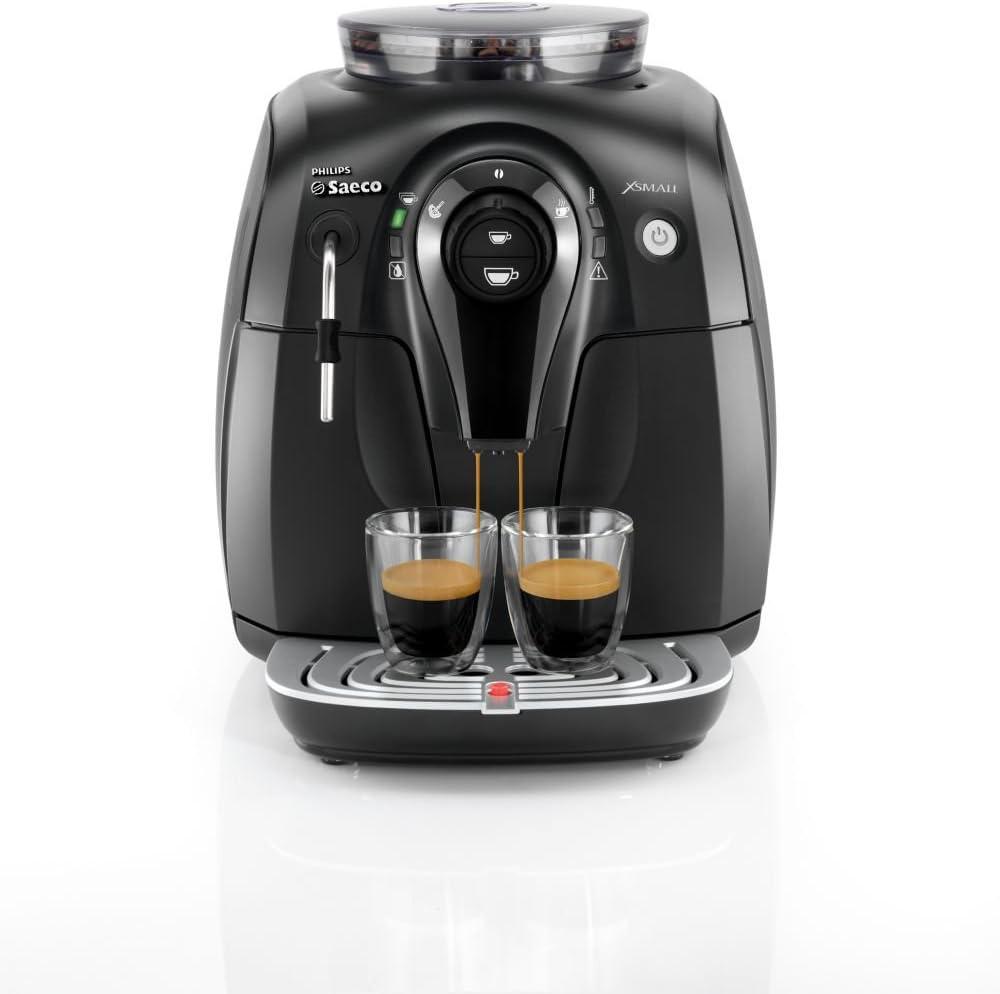 Philips Saeco X-Small - Cafetera automática, 1400 W, color negro ...
