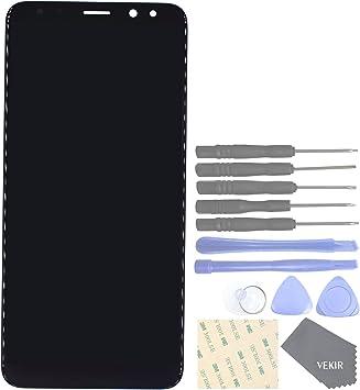 VEKIR Repuestos de teléfonos celulares para Huawei Mate 10 Lite Nova 2i Honor 9i G10 Pantalla Completa Pantalla táctil digitalizador [SIN Marco de Pantalla](Black): Amazon.es: Electrónica