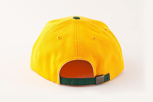 429ac15cd78 MLB Oakland Athletics Suedehead Gold Green Snapback Adjustable Cap  Amazon.co.uk   Clothing