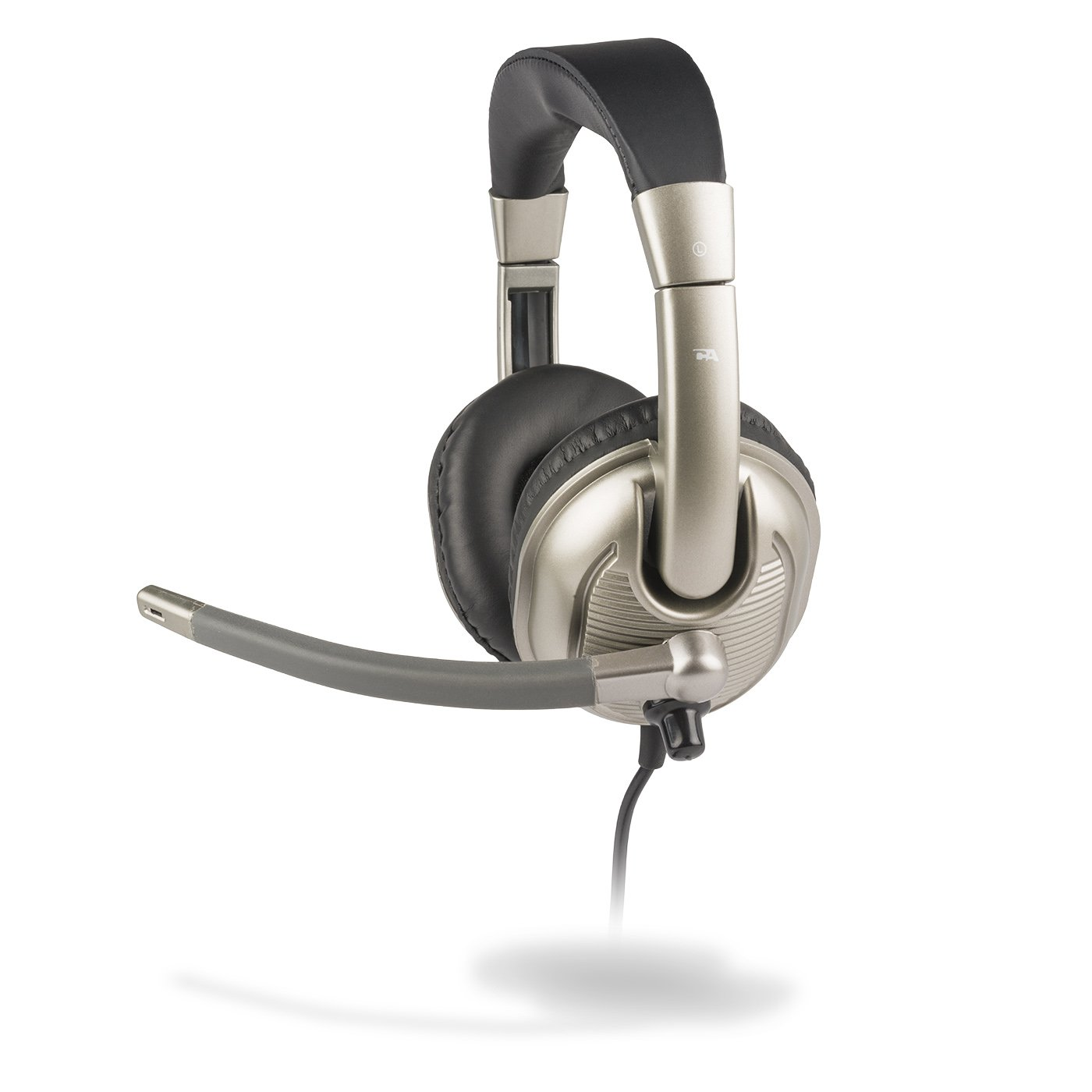 Cyber Acoustics Child Stereo Headset, a kid sized headphone with microphone, great for K12 School Classroom and Education (AC-8000)