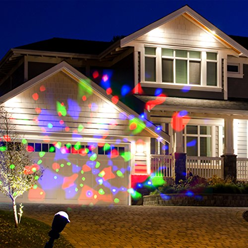 Wed Rotating Kaleidoscope Led Projector Lights Waterproof