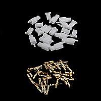 Rtengtunn 10 Sets 2.8mm 2 Pin Conector