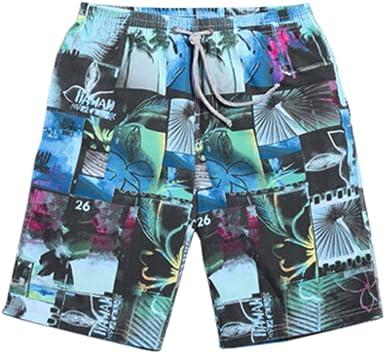 Kylin Express Mens Casual Short Beach Shorts Quick-Dry Sport Swim Trunk Swimwear Jams #12
