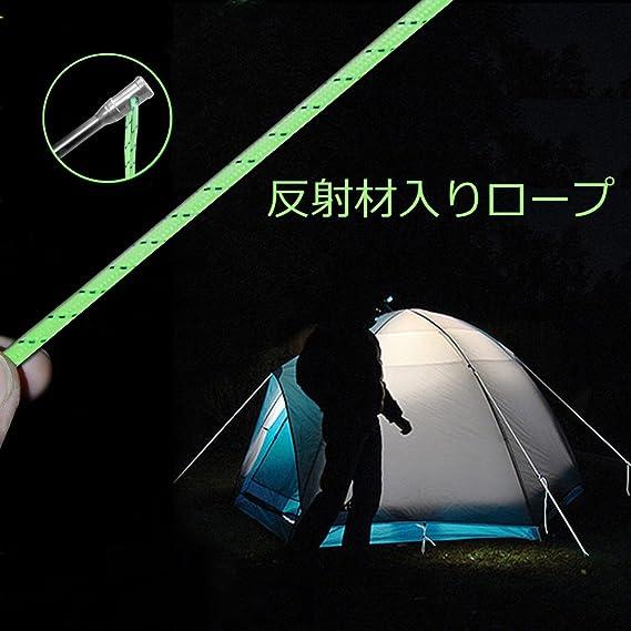 GEERTOP Piquetas Estacas Clavijas para Suelo de Titanio para Tienda de Campa/ña Resistentes de 16 cm Duro para Excursionismo Senderismo o Camping