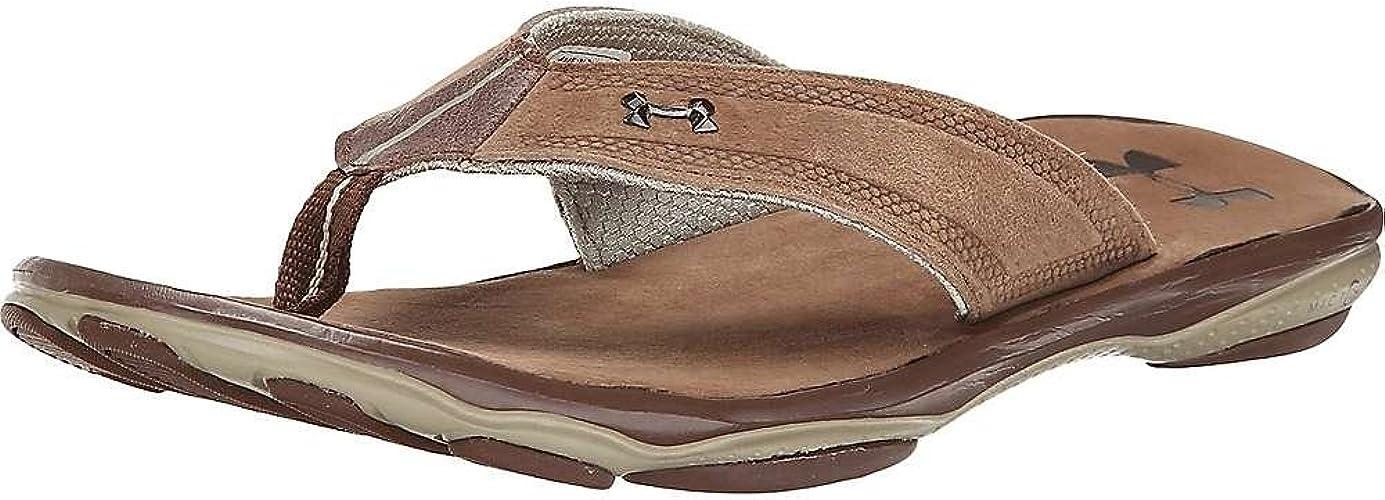 UA Toxic Six Leather Thong Sandal