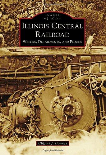 illinois central railroad books - 1