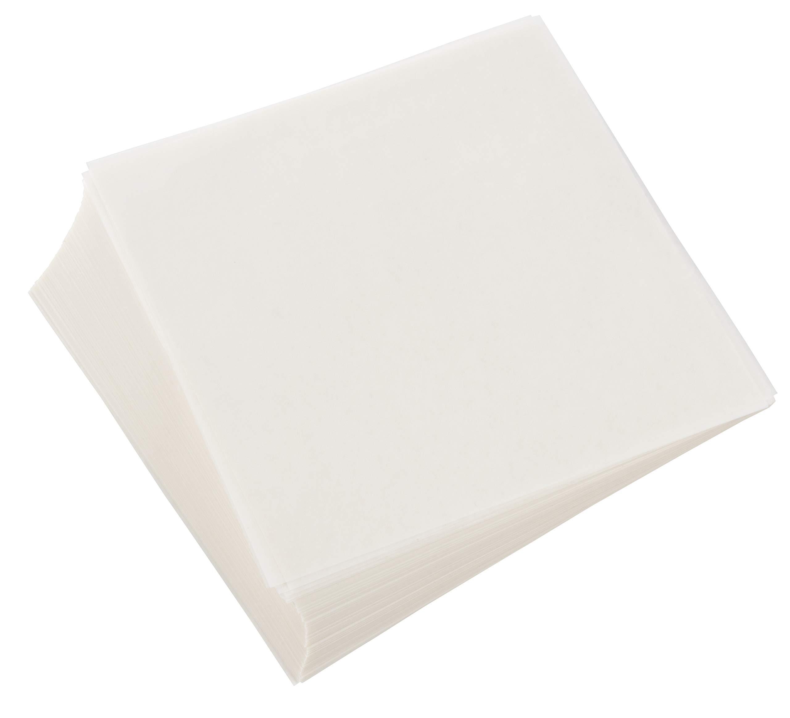 Wax Paper Squares 250 pcs 6 x 6 Non-Stick Hamburger Patty Paper Sheets