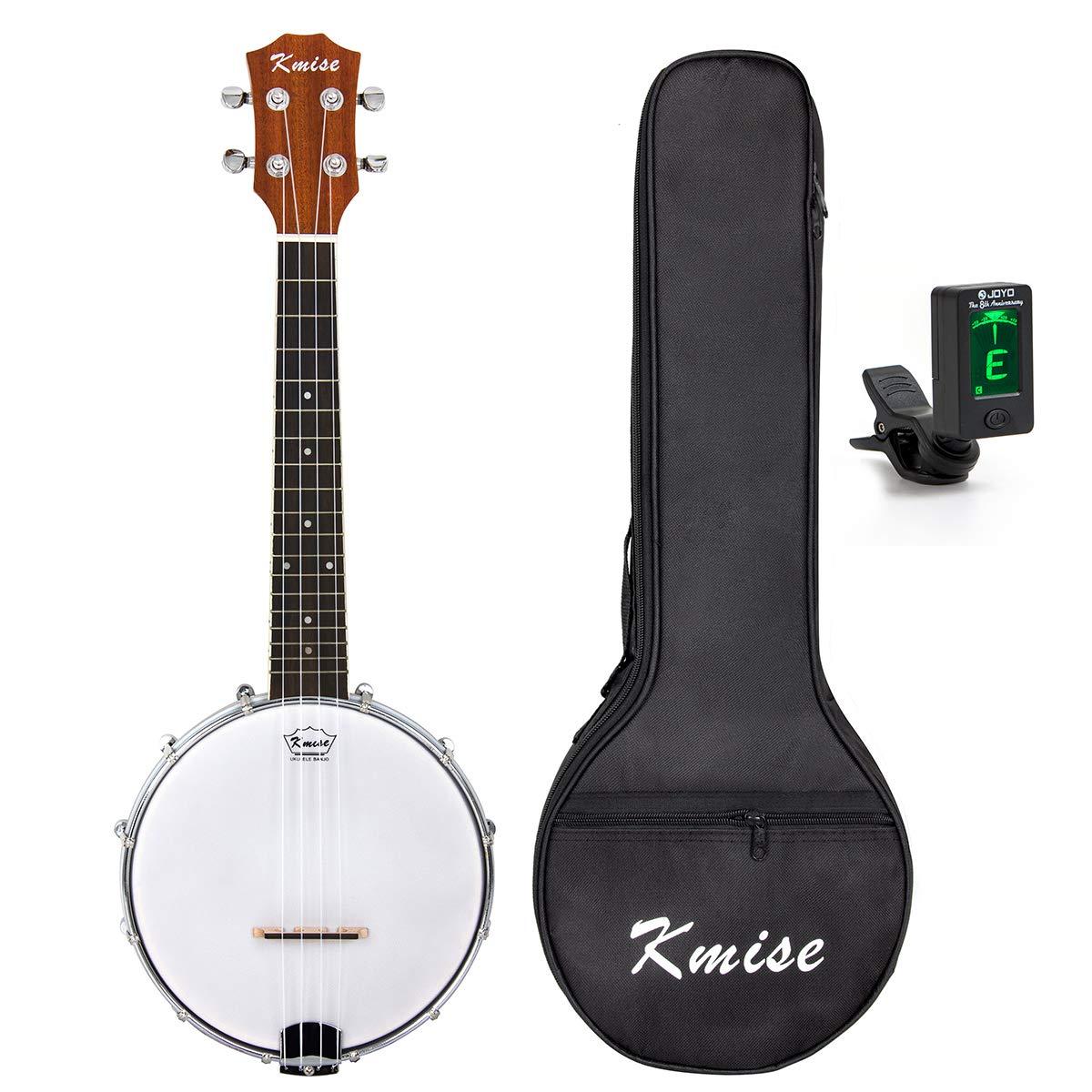 Banjo Ukulele Concert Size 23 Inch Ukelele (3 In 1, Cylinder Inlay)