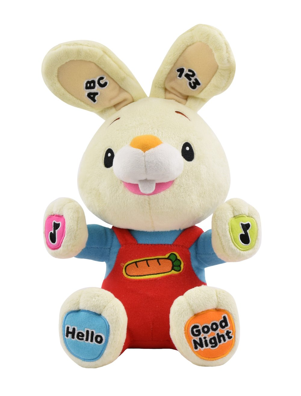 Baby First TV – Play & Sing Harry the Bunny Interactive Toy, Stuffed Animal Plush