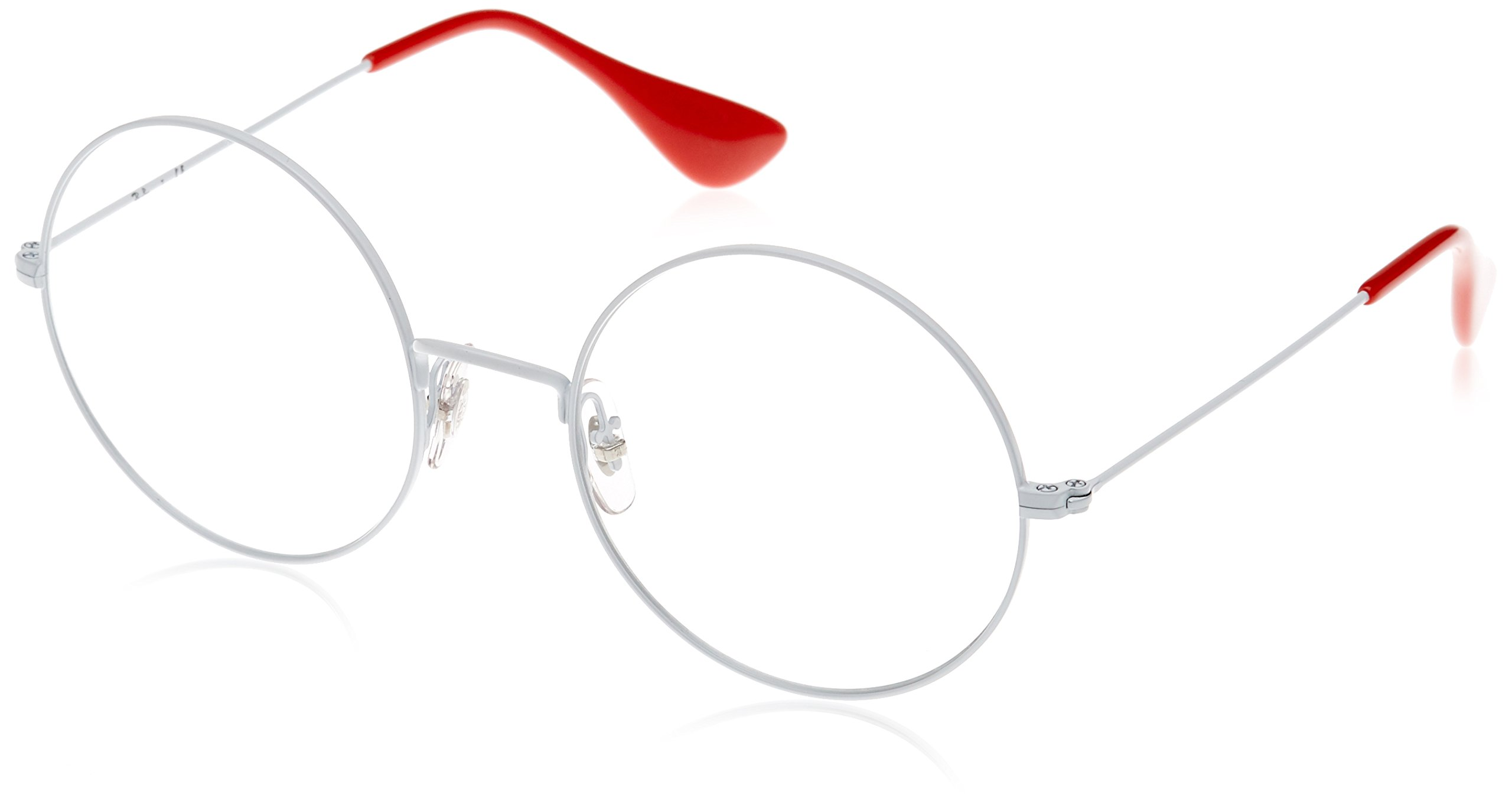 Ray-Ban Unisex 0RX6392 53mm White One Size