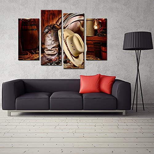 home, kitchen, wall art,  posters, prints 3 picture Kreative Arts - 4 Pieces Canvas Prints Wall Art in USA