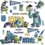 RoomMates RMK2243SCS Monsters University Peel and Stick Wall Decals